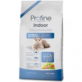 ProFine Indoor  (ягненок, для выведения шерстяных комочков) 3kg
