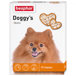 Beaphar Doggy's биотин 75шт (1 шт.)