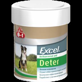 8in1 Excel Deter ксель Детер от капрофагии для собак 100 шт
