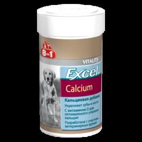 8in1 Excel Calcium Кальций, для собак 155 шт
