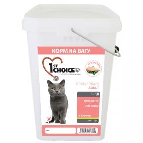 1st Choice Indoor Vitality Adult  сухой супер премиум корм для котов всех пород 5кг