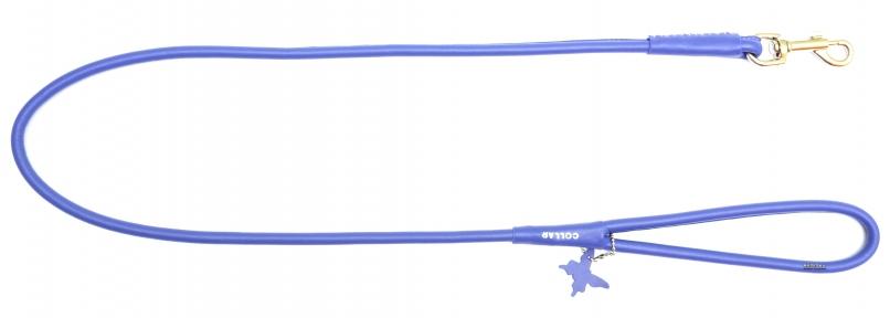 Collar Glamour поводок круглый фиолетовый 10мм/122см