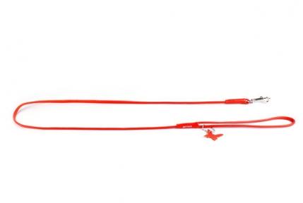 Collar Glamour поводок круглый оранжевый 8мм/122см