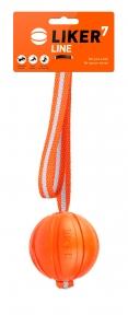 Liker Line 7 - мячик на ленте для собак мелких и средних пород 7см/35см