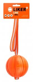 Liker Line 9 - мячик на ленте для собак крупных пород 9см/35см