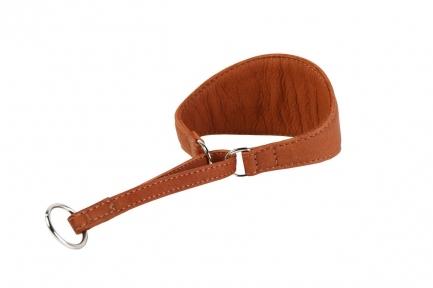 Collar Soft Ошейник-удавка для гончих 50мм\20-28см коричневый
