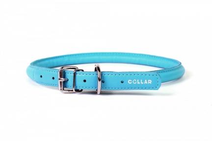 Collar Glamour ошейник круглый XS 8мм\20-25см голубой