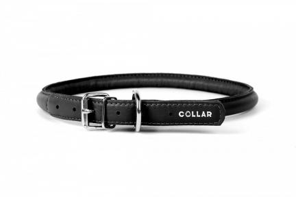Collar Glamour ошейник круглый XS 8мм\20-25см черный
