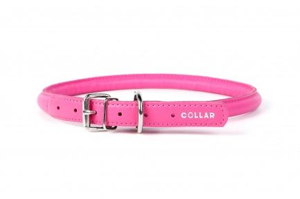 Collar Glamour ошейник круглый XS 8мм\20-25см розовый