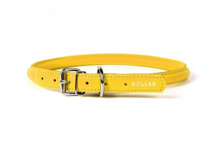 Collar Glamour ошейник круглый XS 6мм\17-20см желтый