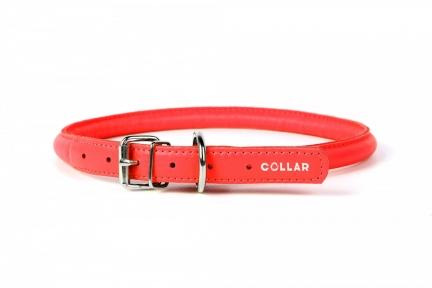 Collar Glamour ошейник круглый XS 8мм\20-25см красный