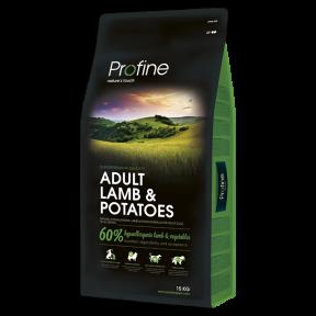 ProFine ADULT LAMB & POTATOES ягненок и картофель для взрослых собак15 kg