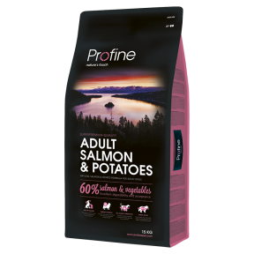 ProFine ADULT SALMON & POTATOES лосось и картофель для взрослых собак 15 kg