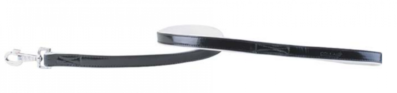 Collar Brilliance поводок без украшений черно-белый 122см 18мм