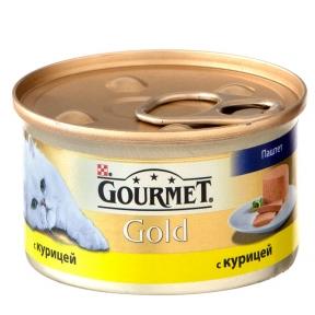 Gourmet Gold паштет с курицей 85г