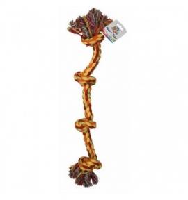 Croci Игрушка для собак Канат узловой грейфер 4 узла 63,5см