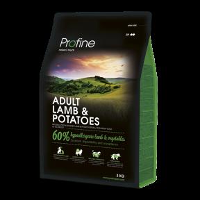 ProFine ADULT LAMB & POTATOES ягненок и картофель для взрослых собак 3kg
