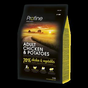ProFine ADULT CHICKEN & POTATOES курица и картофель для взрослых собак 3kg