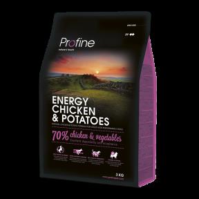 ProFine ENERGY CHICKEN & POTATOES курица и картофель для собак с повышенной физической нагрузкой 3kg