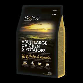 ProFine ADULT LARGE BREED CHICKEN & POTATOES курица и картофель для взрослых собак крупных пород 3kg
