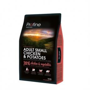ProFine ADULT SMALL BREED CHICKEN & POTATOES курица и картофель для взрослых собак мелких пород 2kg