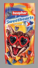 Beaphar Sweet Hearts витаминизированное лакомство 1200шт