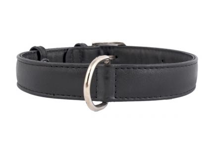 Collar Glamour без украшений для котов с резинкой 9мм/17-20см черный