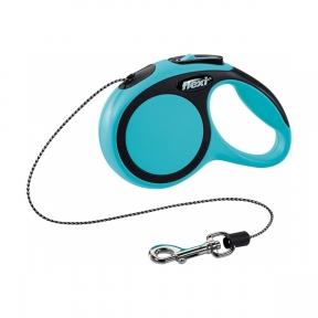 Flexi New Comfort 3m 8kg XS трос, синяя