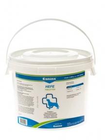 Canina ENZYM-HEFE - Дрожжевые таблетки с энзимами и ферментами - добавка для собак 2500г (3100 таб)