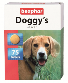 Beaphar Doggy's ливер 75шт (1 шт)