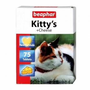 Beaphar Kitty Cheese Витамины для котов 75 шт (1 шт)