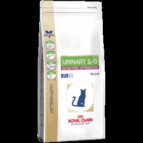 Royal Canin Urinary S/O Olfactory Attraction для котов при заболеваниях мочевыводящего тракта 400g
