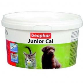 Beaphar Junior Cal Минеральная смесь для щенков и котят 200 г