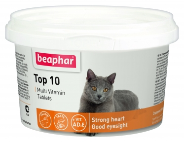 Beaphar Top 10 Мультивитамины для кошек 180 таблеток