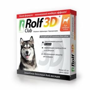 Rolf Club Ошейник от блох для собак средних пород 65см