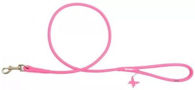 Collar Glamour поводок круглый розовый 13мм/122см