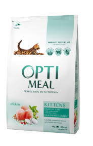 OptiMeal сухой корм для котят с курицей 4кг