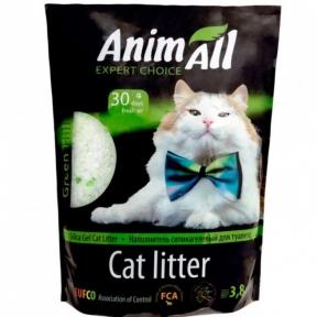 AnimAll наполнитель силикагель Кристаллы изумруда для котов, 3.8л