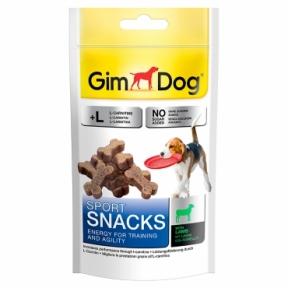 Gimdog Sport Snacks с ягненком и L-каратином 150г