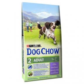 Purina Dog Chow Adult со вкусом ягненка 14 кг