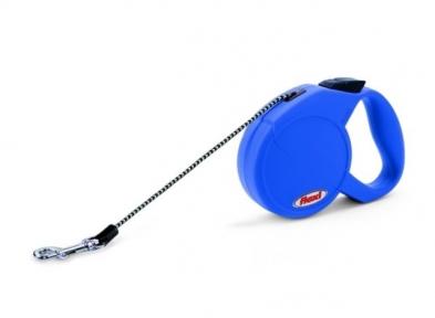 Flexi Classic Basic 5м, трос, синий 50kg
