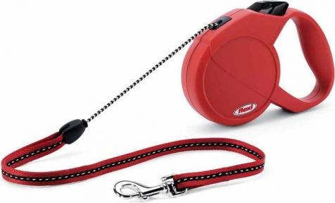 Flexi Classic Basic M 5м, трос, красный 20kg