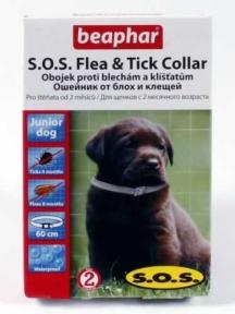 Beaphar S.O.S ошейник противопаразитный для щенок 60 см