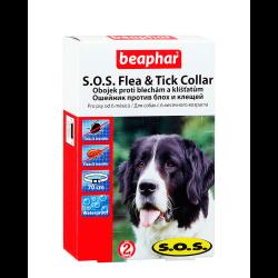 Beaphar S.O.S ошейник противопаразитный для собак 70см
