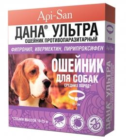 Api-San Дана Ультра противопаразитарныйт для собак для собак 65 см