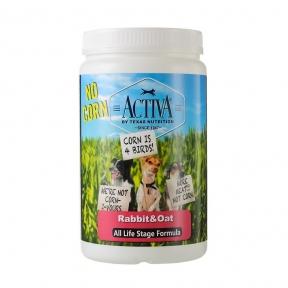 Activa No corn for dog, корм для собак любого возраста с кроликом, без кукурузы, 1кг