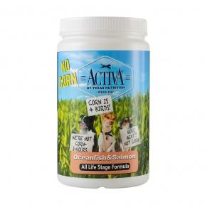 Activa No corn for dog, корм для собак любого возраста с океанической рыбой, без кукурузы, 1кг