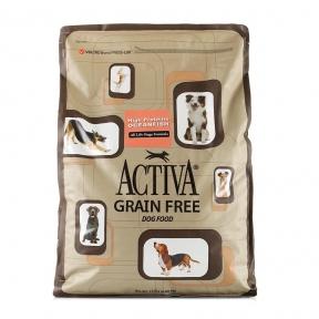 Activa Grain Free for dog, беззерновой корм для собак любого возраста с океанической рыбой, 6.8кг
