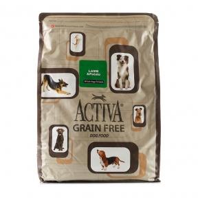 Activa Grain Free for dog, беззерновой корм для собак любого возраста с ягненком, 6.8кг