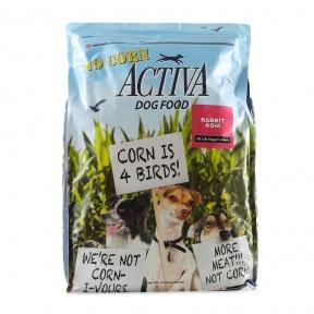 Activa No corn for dog, корм для собак любого возраста с кроликом, без кукурузы, 6.8кг